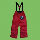 Central Skihose junior wasserdicht rot 